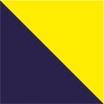 Blu Navy/Giallo